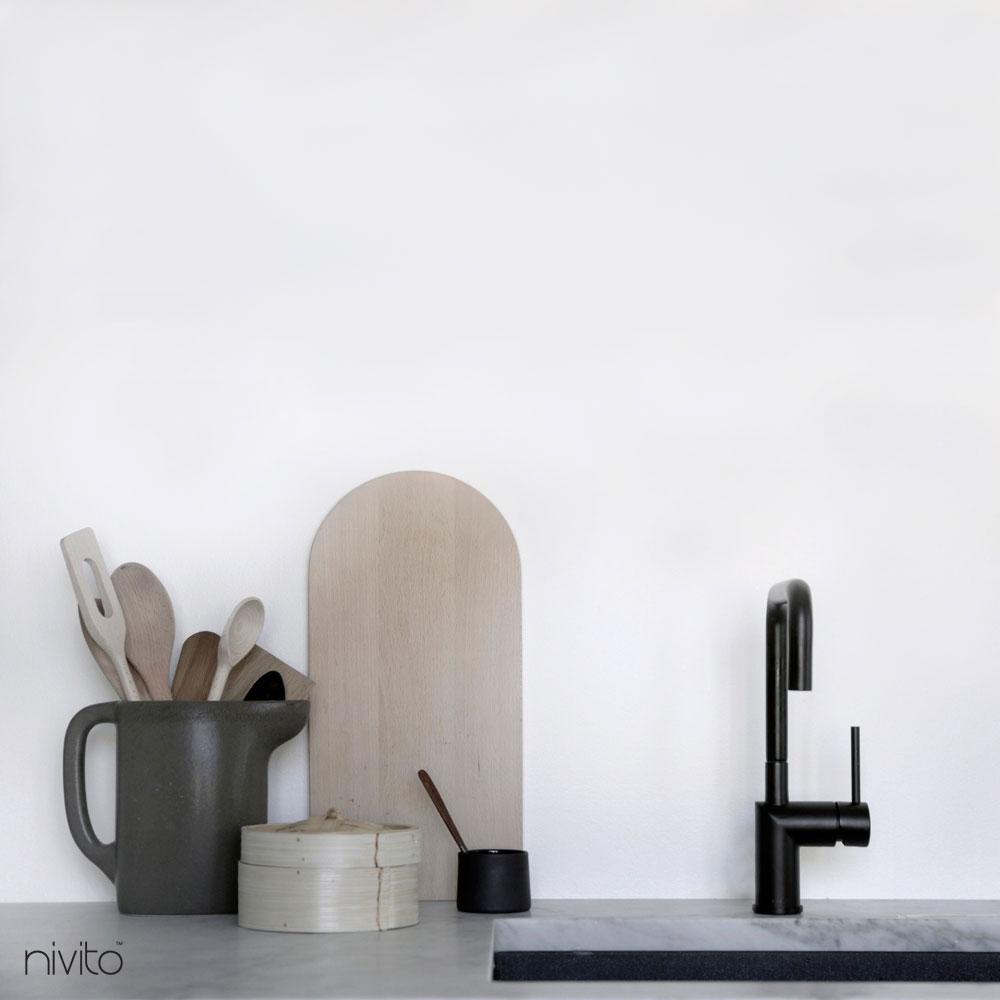 Keuken kranen zwart