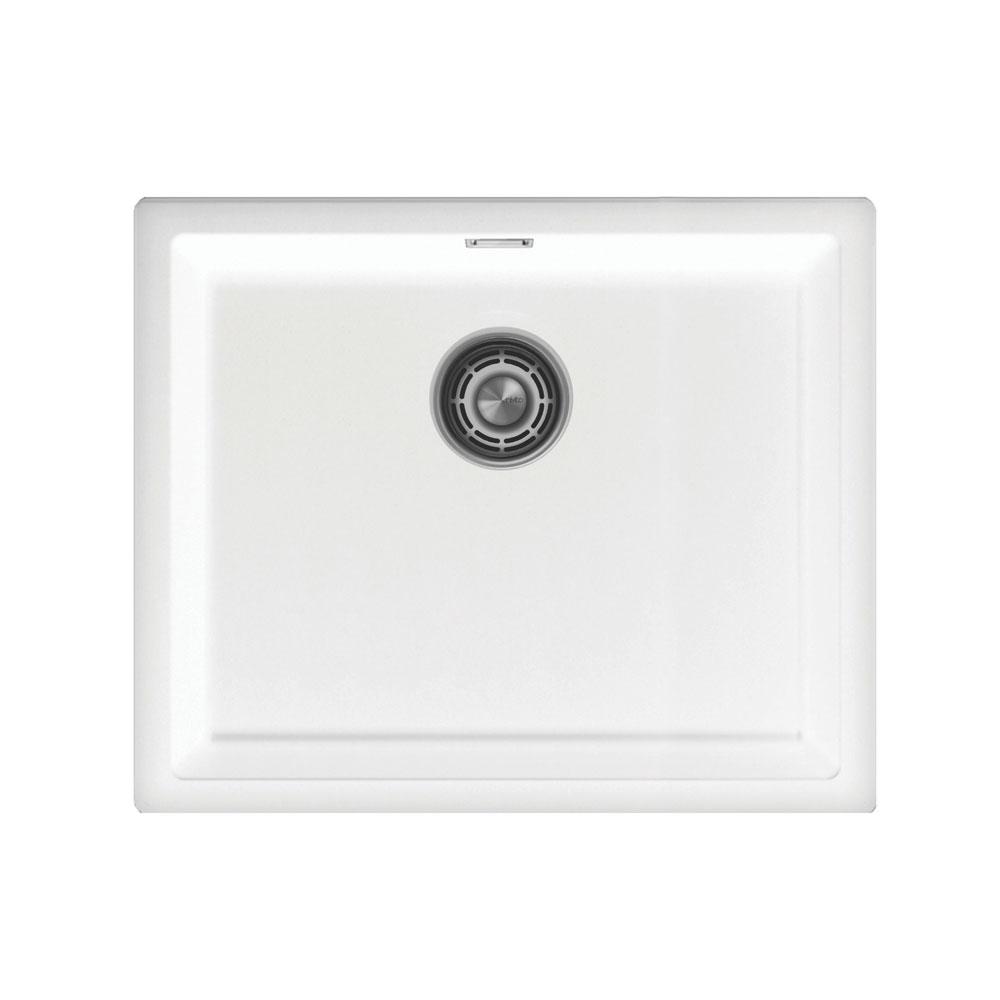 Wit Keuken Bekken - Nivito CU-500-GR-WH