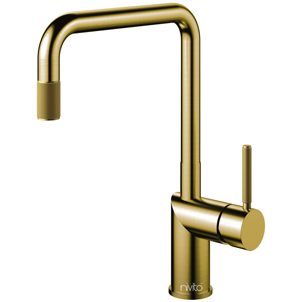 Goud/Messing Keukenkraan - Nivito RH-340-IN