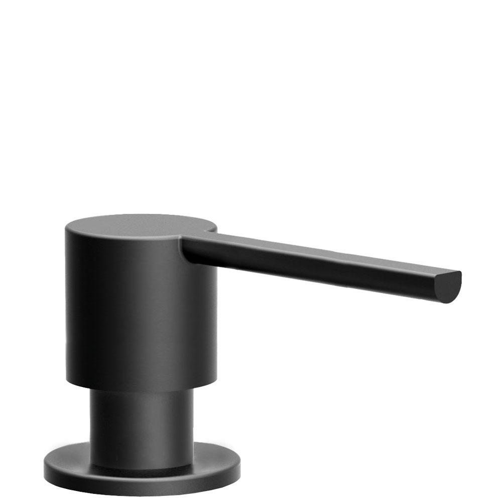 Zwart Zeepdispenser - Nivito SR-BL