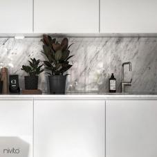 Roestvrijstaal Keukenkraan - Nivito 1-RH-300