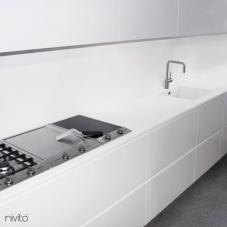 Roestvrijstaal Keukenkraan - Nivito 5-RH-300