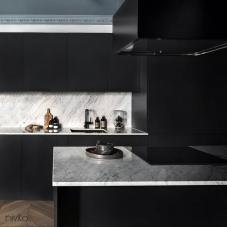 Zwart keuken mengkraan kraan