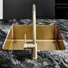 Goud/Messing Keukenspoelbak - Nivito 1-CU-500-BB