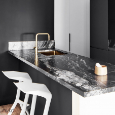 Goud/Messing Keukenspoelbak - Nivito 2-CU-500-BB