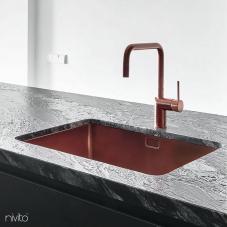 Koper Keukenspoelbak - Nivito 1-CU-500-BC
