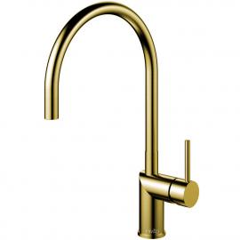 Brass/gold Keukenmengkraan - Nivito RH-140