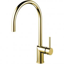 Brass/Gold Keukenmengkraan - Nivito RH-160
