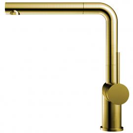 Goud/Messing Keukenkraan Uittrekbare slang - Nivito RH-640-EX